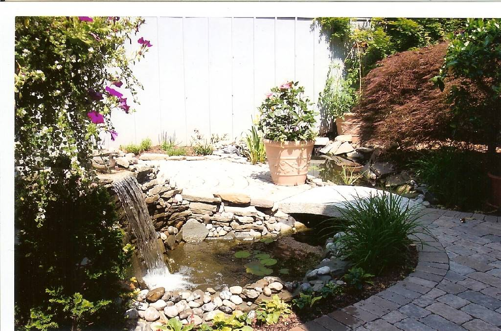 Water Gardens Grading and Drainage Pennsylvania